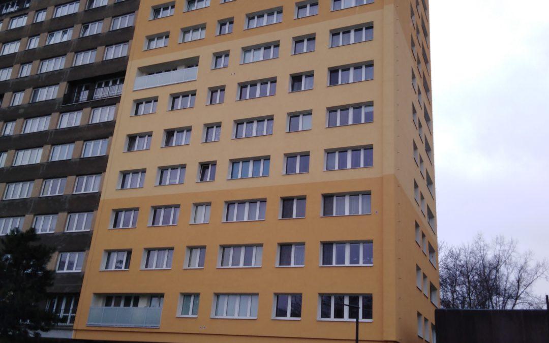 Zateplení bytového domu